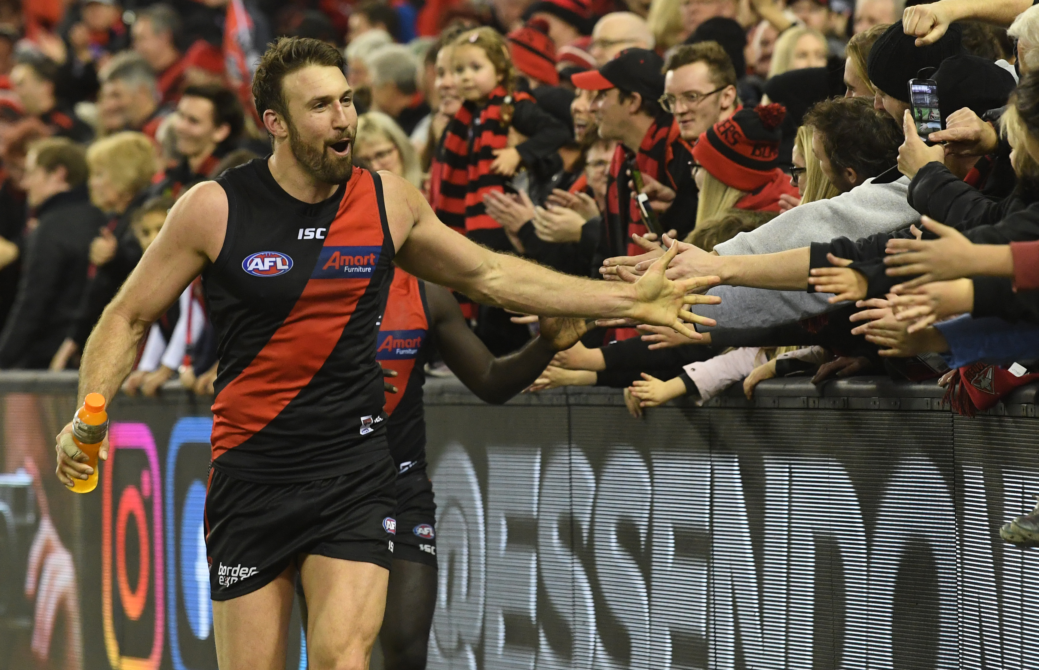 Article image for Essendon scrape through with a controversial win