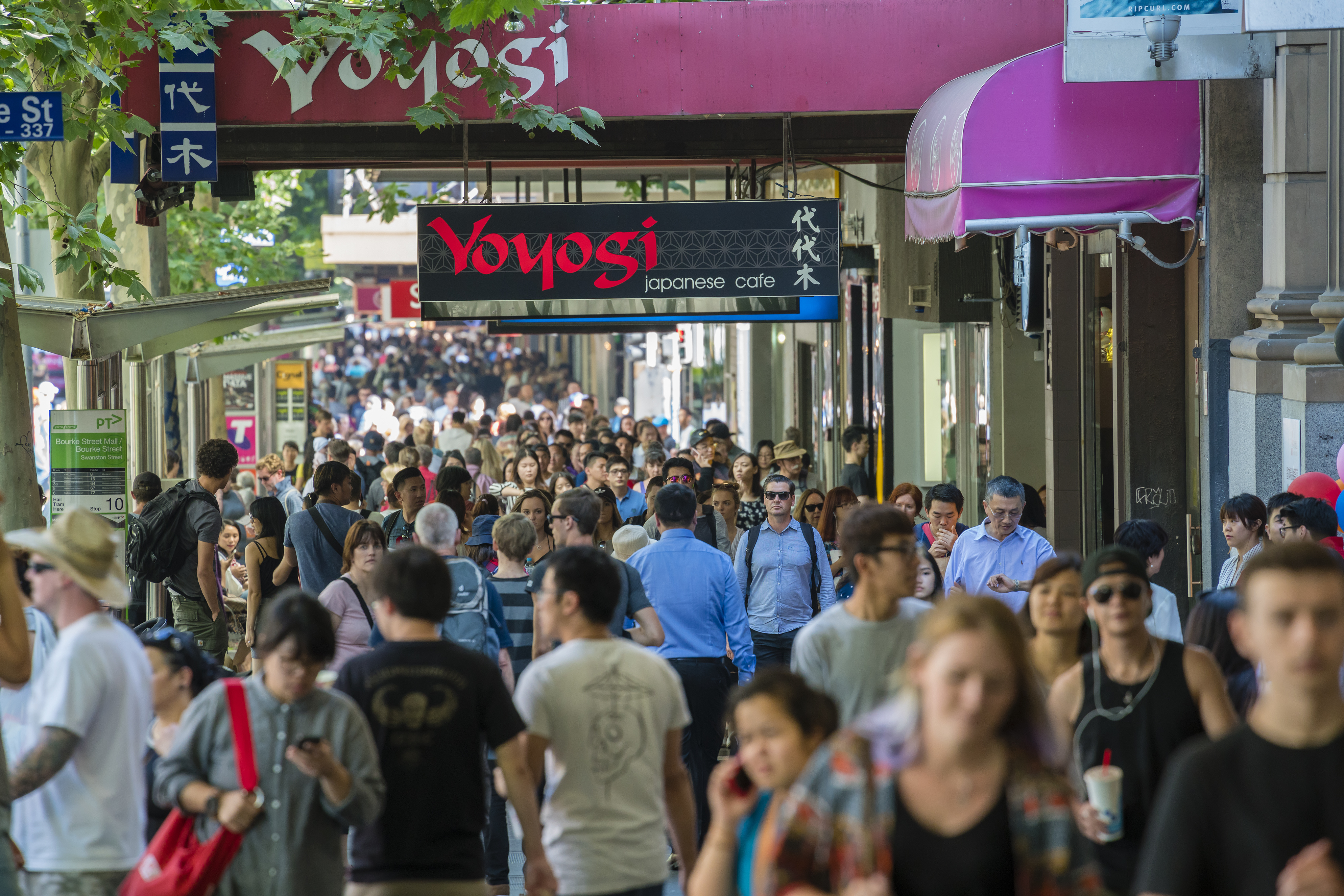 Article image for Council to crackdown on delivery bikes in war on overcrowded CBD footpaths