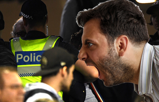Footy fan complains about police response after he dropped 'f-word' in front of young daughter
