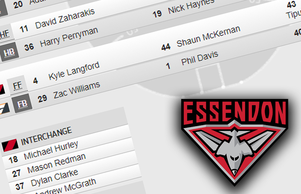 Article image for Essendon accused of 'insulting' its own fans with team selection