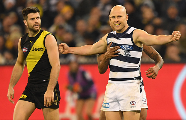 Article image for Geelong makes a BIG statement at the MCG