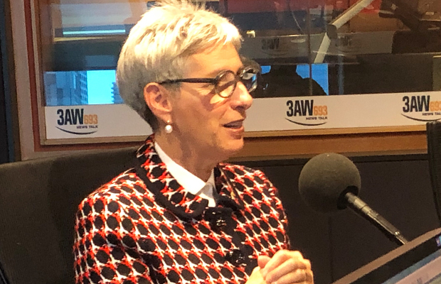 Article image for Governor Linda Dessau discusses a range of topics, including the pronunciation of her last name!