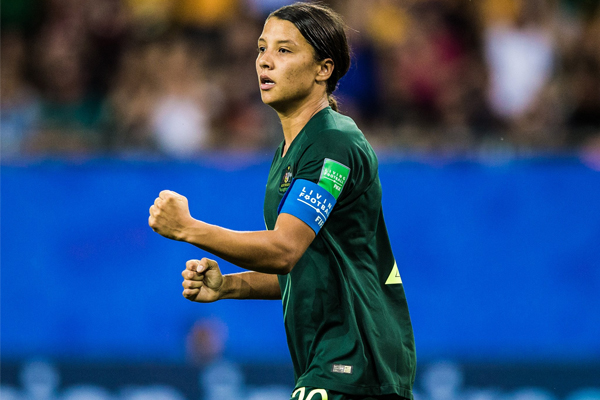 Article image for Matildas Masterclass: Sam Kerr guides Australia into World Cup knockout stage