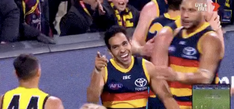Article image for Eddie Betts says THIS goal might just be his best