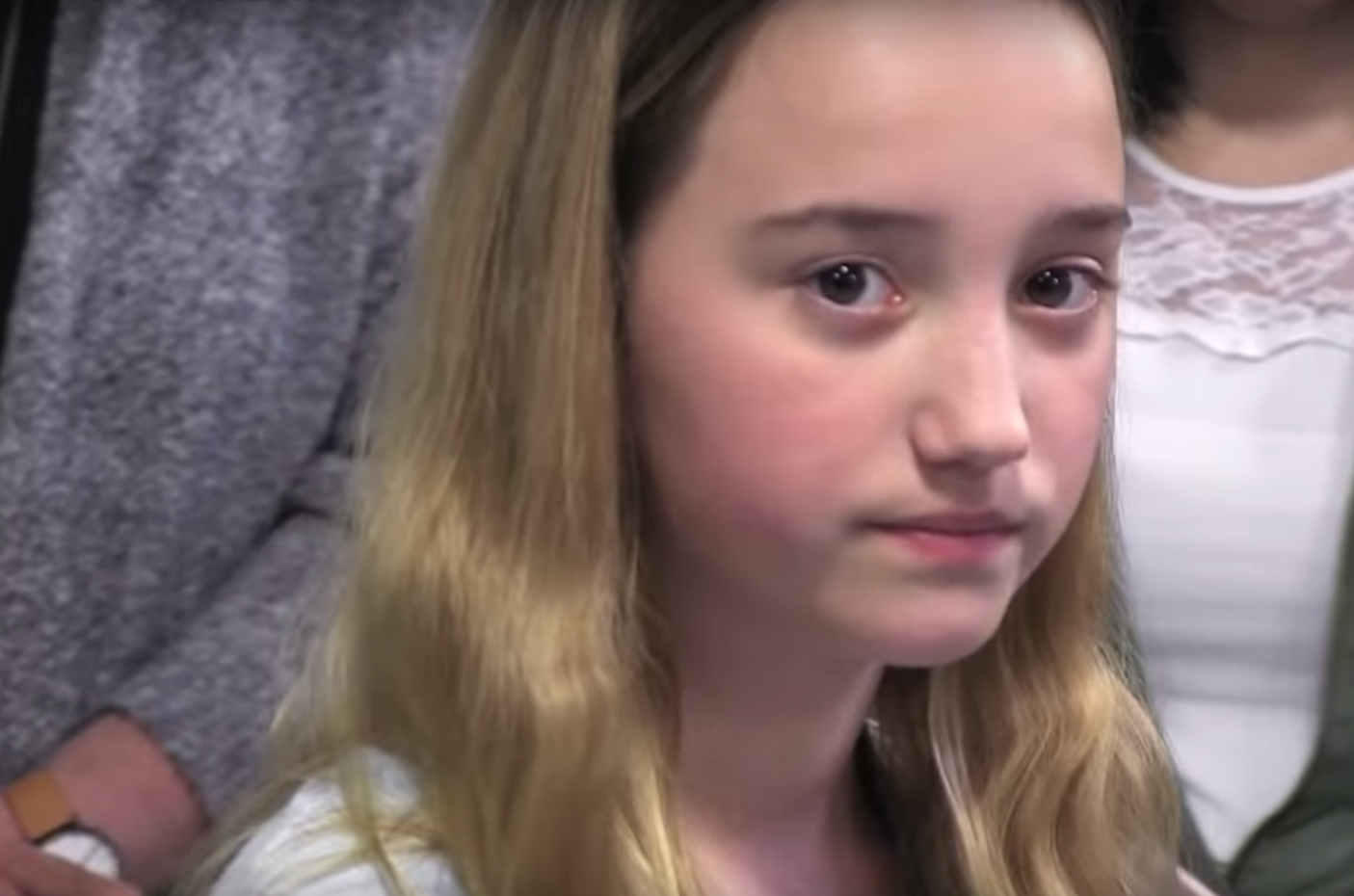 Article image for Viral anti-gun campaign: Eleven year old girl teaches active shooter training