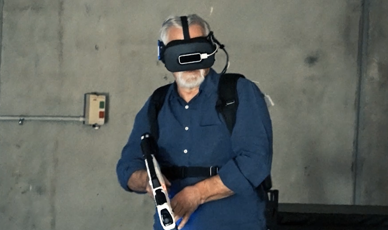 Article image for Neil Mitchell road tests the virtual reality system which could transform the police force