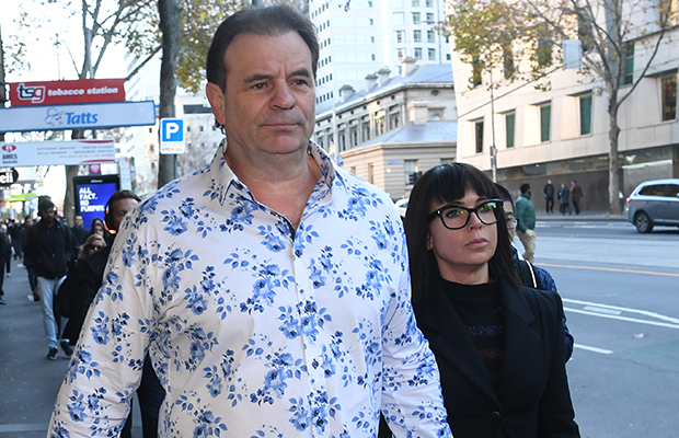 Article image for John Setka's wife reveals herself as woman at centre of charges as union leader learns his fate in court