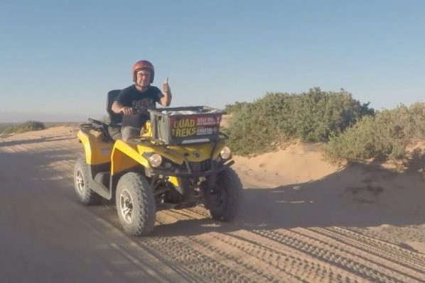 Steve Price ramps up the adventure levels on day three of his WA road trip