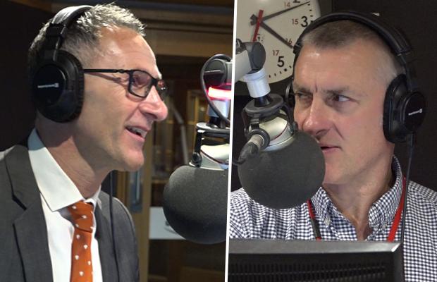 Tom Elliott and Greens leader clash over tax cuts