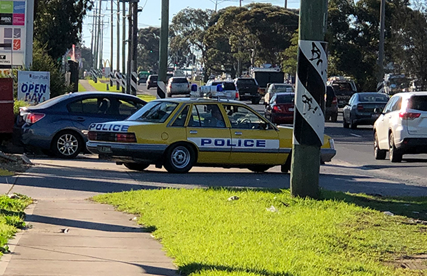 Victoria Police goes retro in bid to tackle speeding drivers