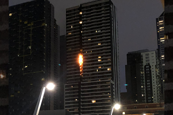 Article image for Victoria takes world's toughest stance on flammable cladding