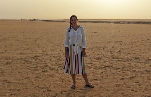 Holiday snaps: Kate Stevenson's incredible Egyptian adventure