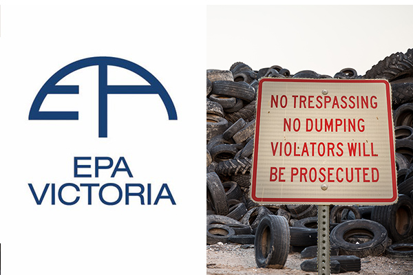EPA shuts down dangerous illegal dumping ground in Melbourne's north