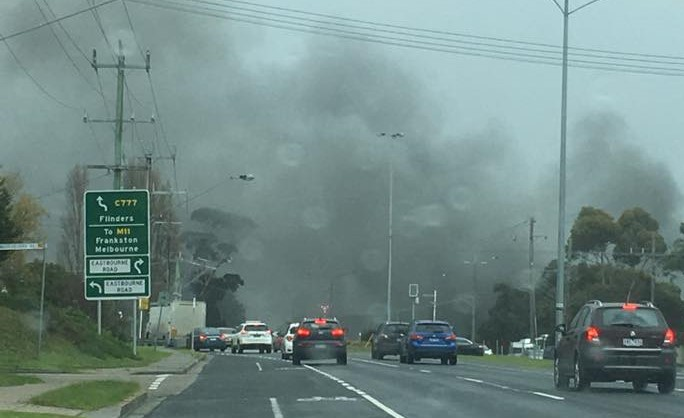 Article image for Rosebud fire: Blaze at a Mornington Peninsula high school