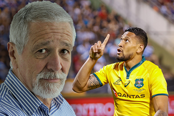 Article image for 'The pack is after him': Neil Mitchell slams 'gang tackle' on Israel Folau