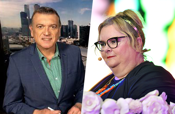 Article image for Pete Ford says he's NOT in a bitter feud with Magda Szubanski