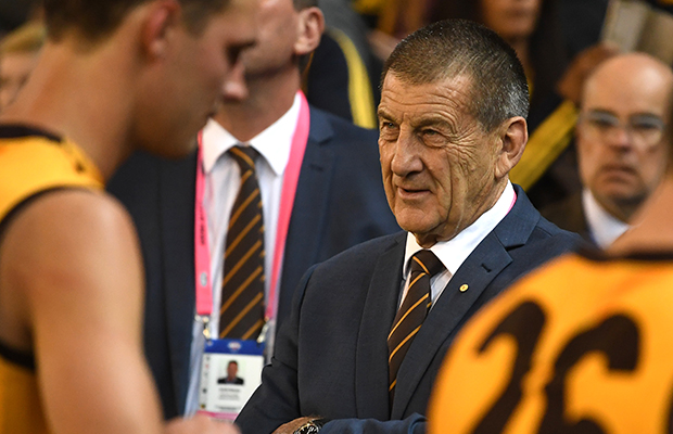 Article image for Footy fan behaviour: Jeff Kennett questions ethnic background of security staff