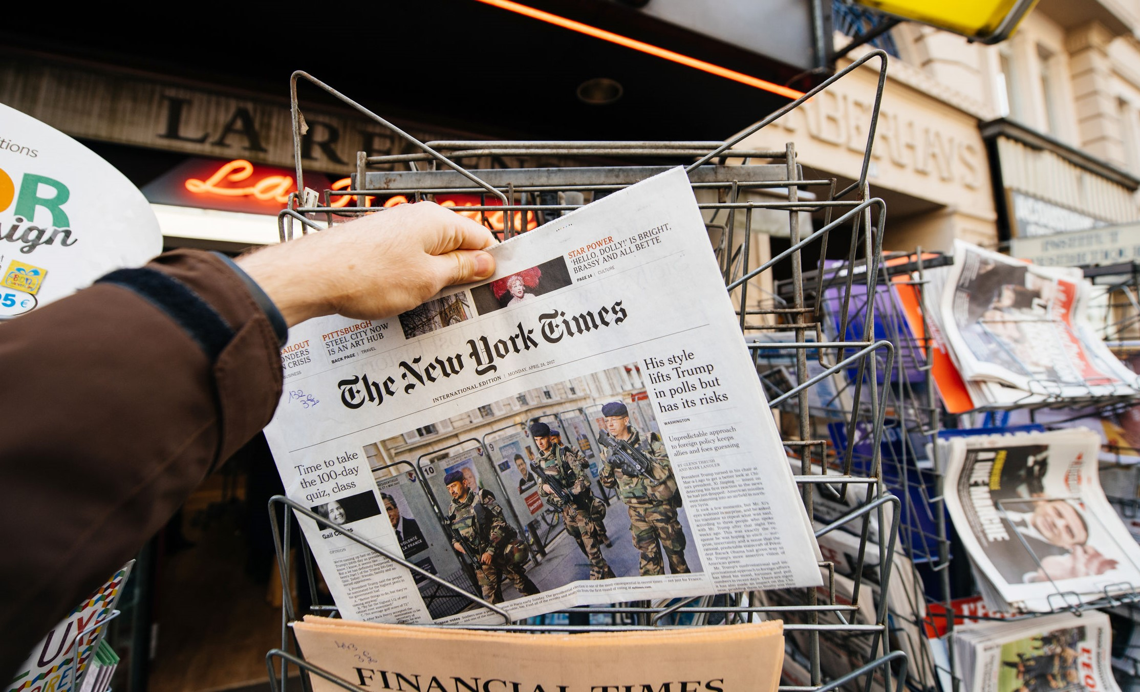 Article image for New York Times pulls the plug on political cartoons in 'knee-jerk reaction' to anti-Semitic cartoon controversy