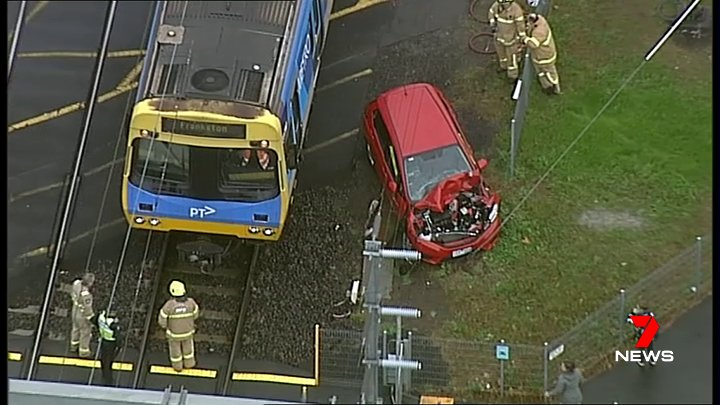 Article image for Frankston line crash to cause commuter chaos