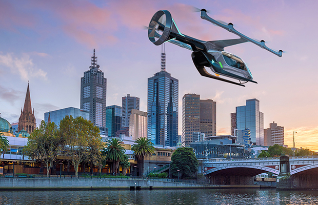 Article image for Uber Air to land in Melbourne, but unanswered questions remain