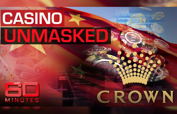 Article image for Alarming 60 Minutes report exposes alleged links between Crown and Chinese crime gangs