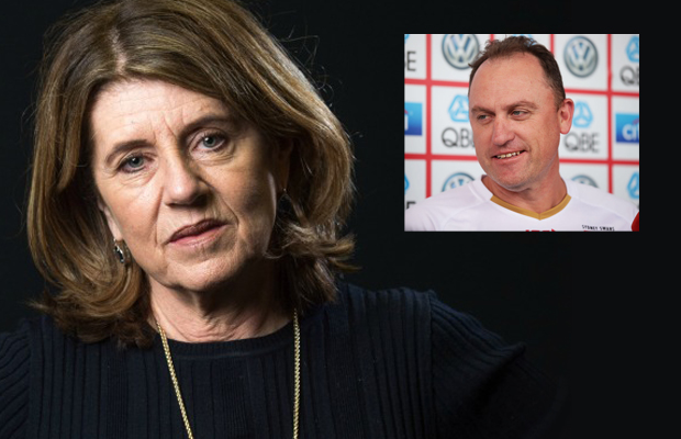 Article image for Why Caroline Wilson was 'staggered' by comments from John Longmire about his future