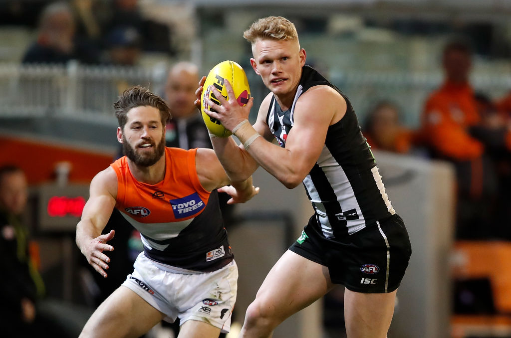 Article image for The Giants make a mockery of the Pies on home turf