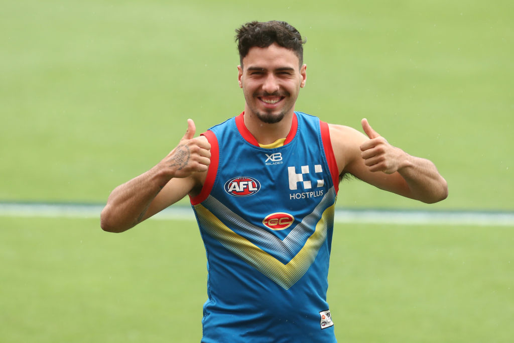 Article image for Gold Coast youngster extends contract with the Suns