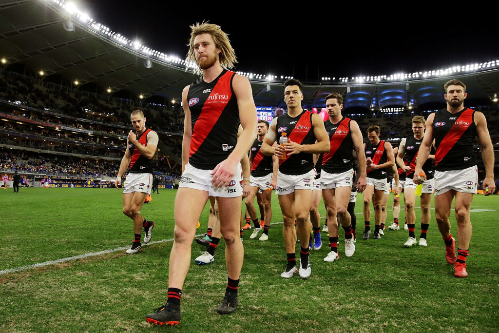 Article image for Essendon make HUGE late change ahead of clash with Sydney