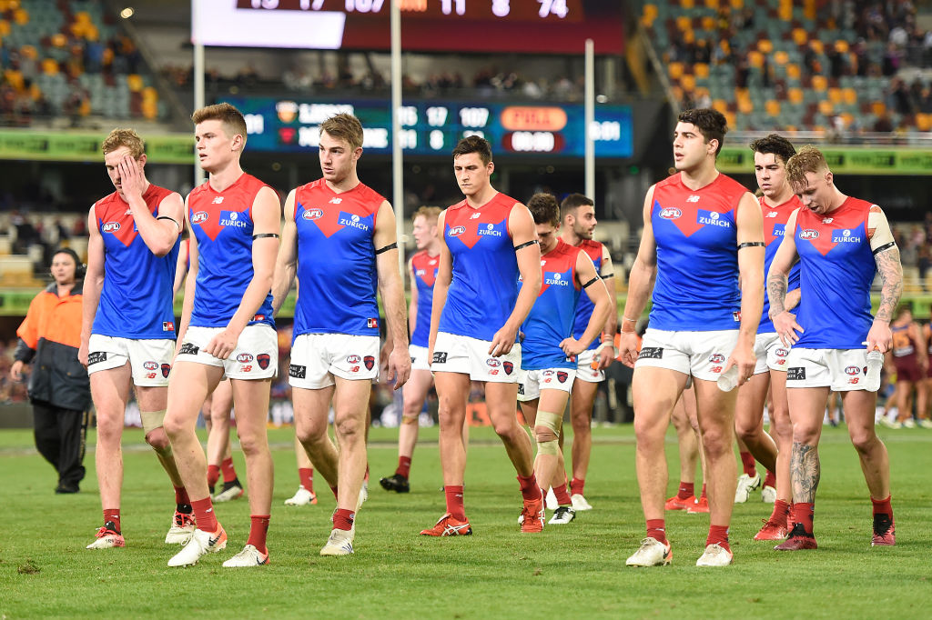 Article image for Dees footy boss says a 'failed pre-season' compromised their performance