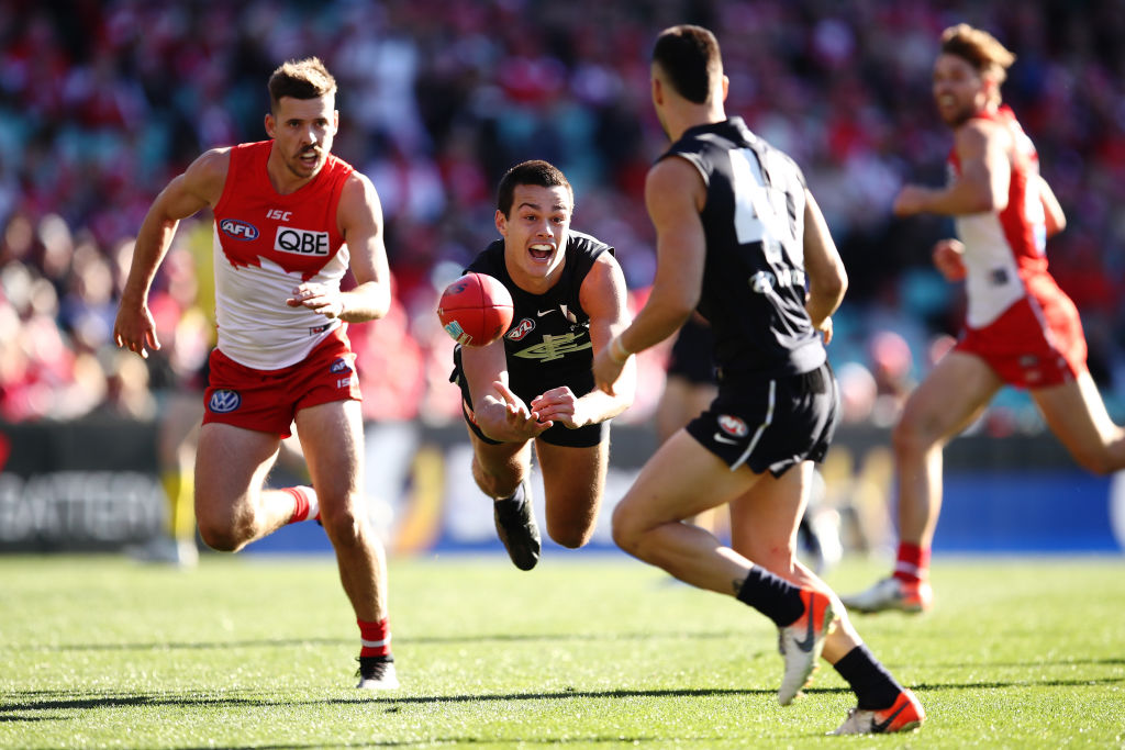 Article image for Blues beat Swans to register BIG Saturday afternoon win