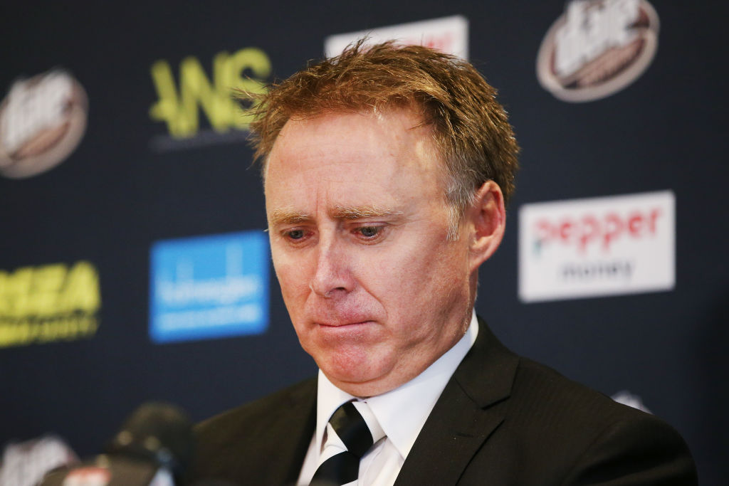 Article image for 'It can't be about one year': St Kilda boss Matt Finnis explains why they parted ways with Alan Richardson