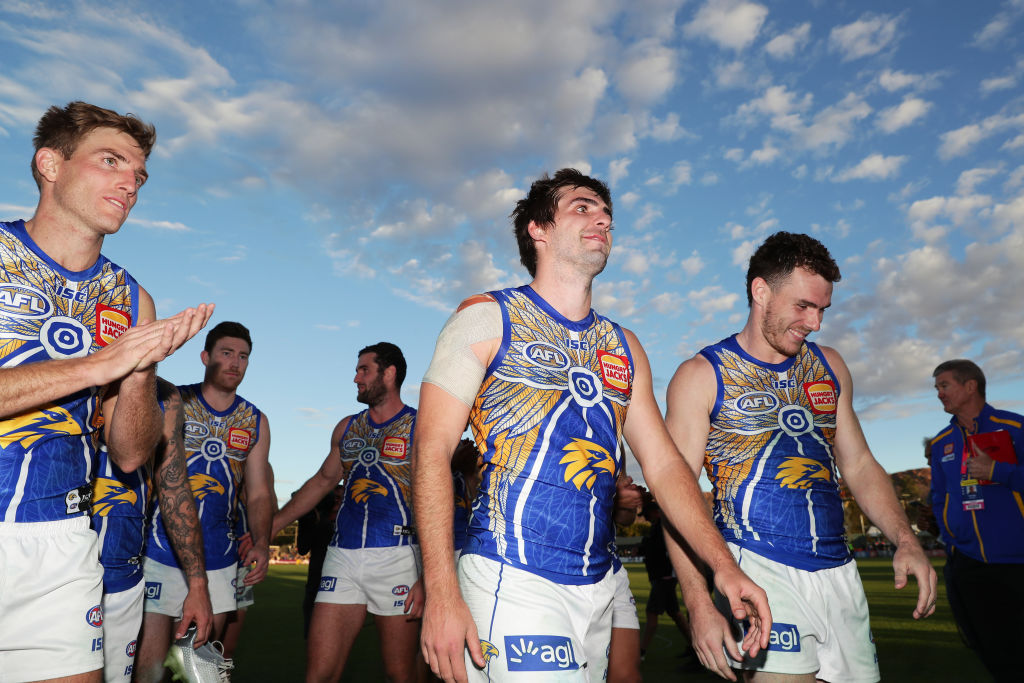 Article image for The Eagles prevail after a tough battle in the North
