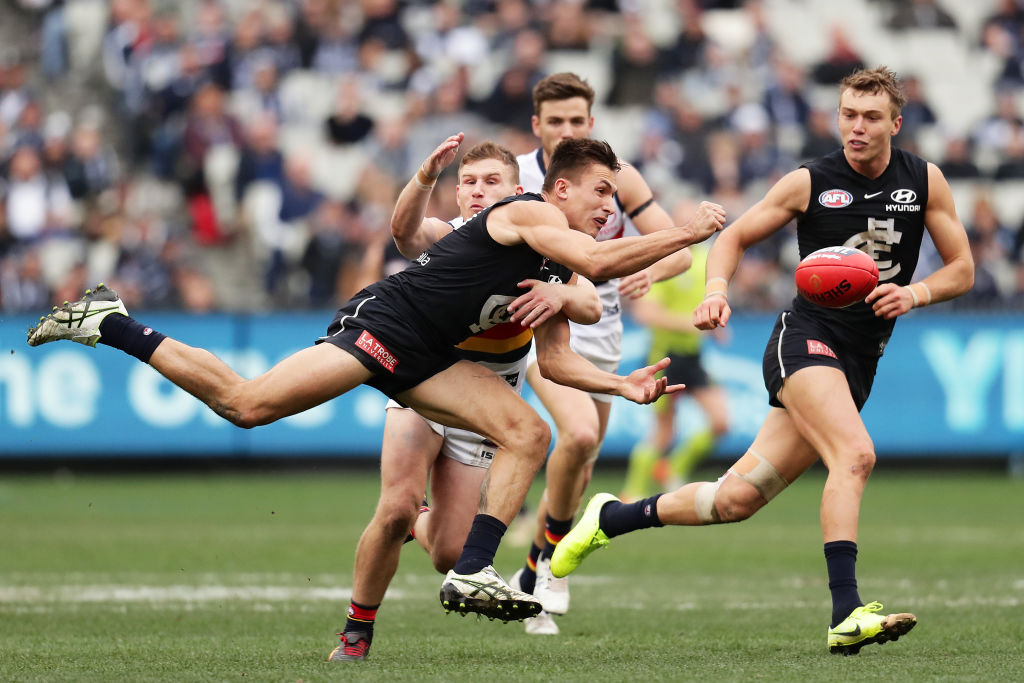 Article image for Blues win another one to heap pressure on Adelaide