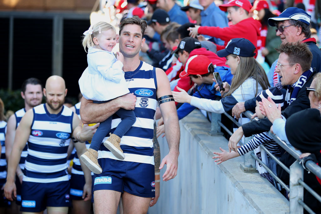 Article image for Milestone man Hawkins delivers for the Cats at the SCG