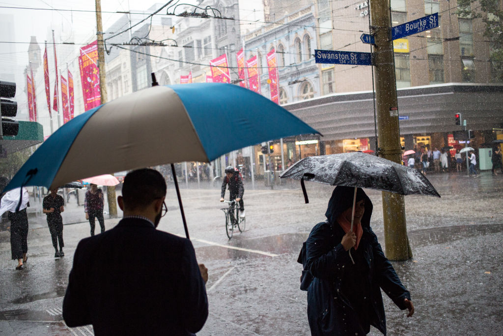 Article image for Wild weather: Squalls and storms forecast to hit Melbourne this weekend