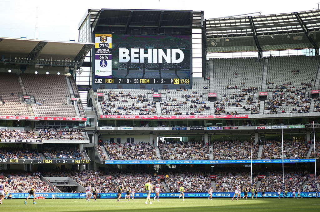 AFL operations boss confirms new score review system set to be launched during finals