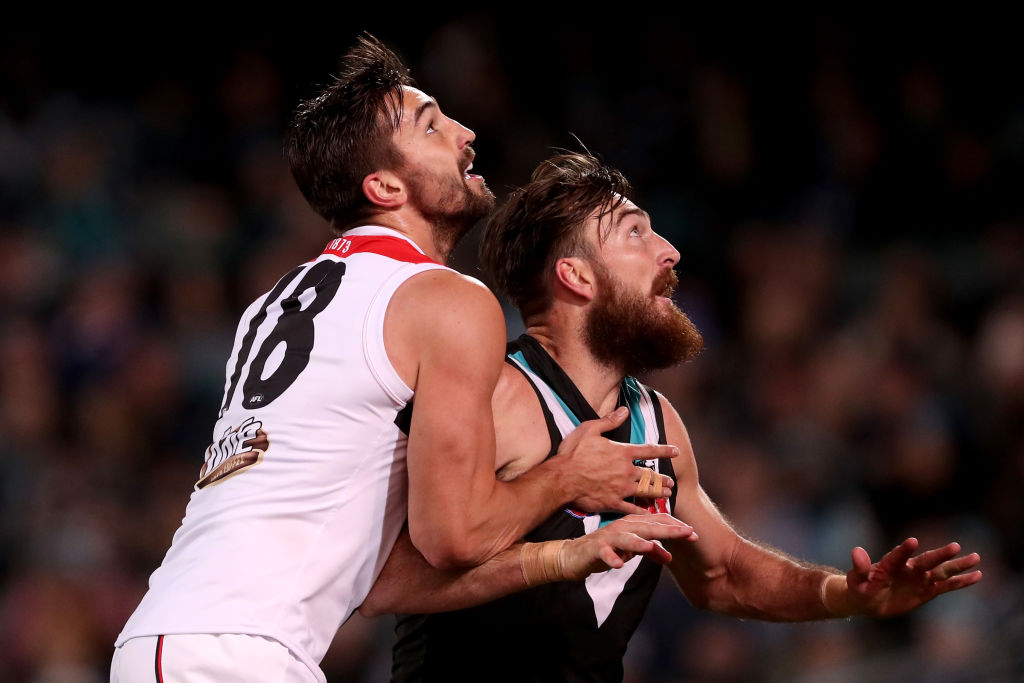 Article image for St Kilda ruckman steps away from footy to focus on 'health and wellbeing'
