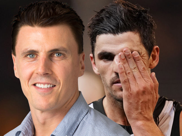 Article image for Matthew Lloyd names list of underperforming Collingwood players
