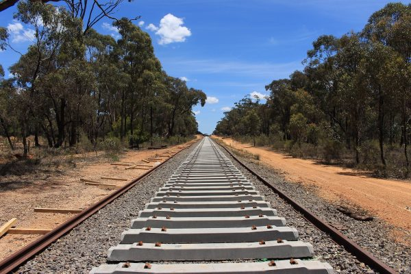 Rail project runs out of money