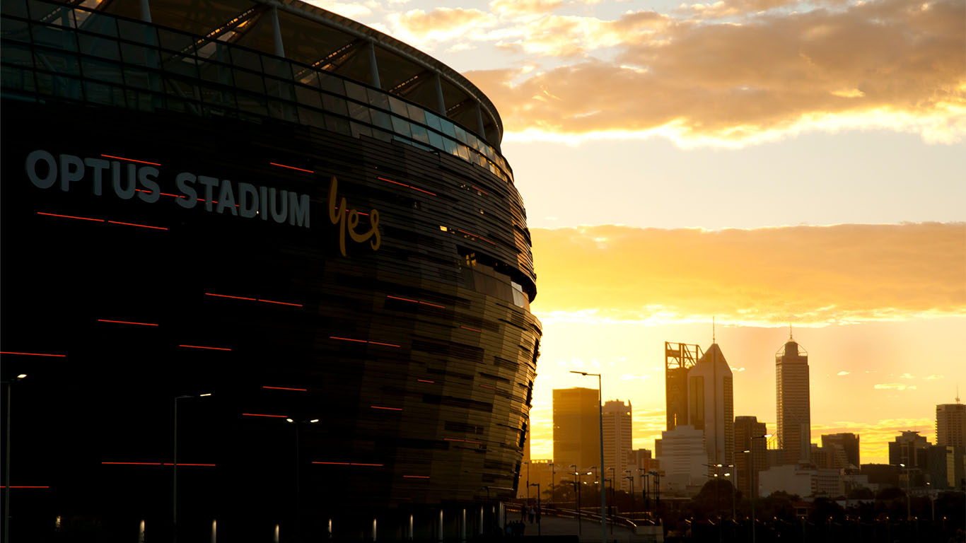 Article image for Tom and 6PR Drive host go head-to-head over naming of world's most beautiful stadium
