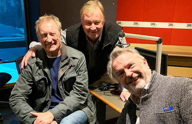 Article image for Actors (and friends!) Sam Neill and Bryan Brown swing by for a chat with Denis Walter!