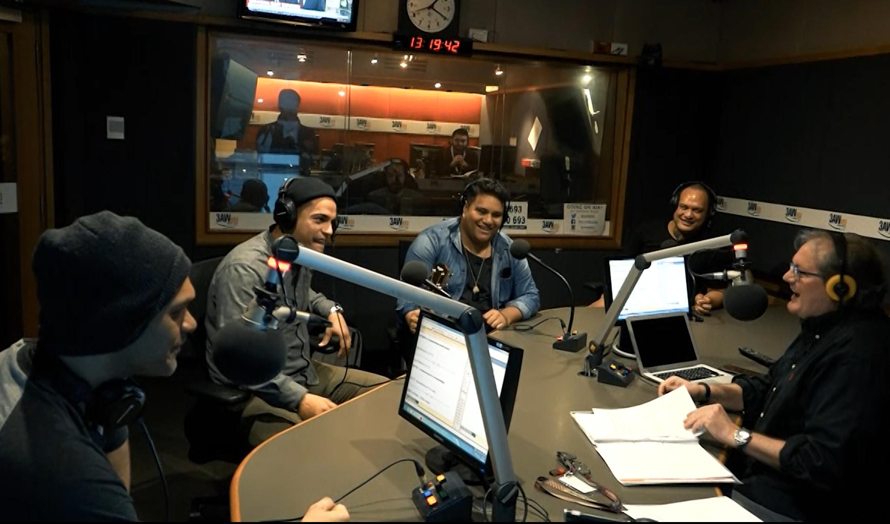 Article image for The Modern Maori Quartet perform live in studio