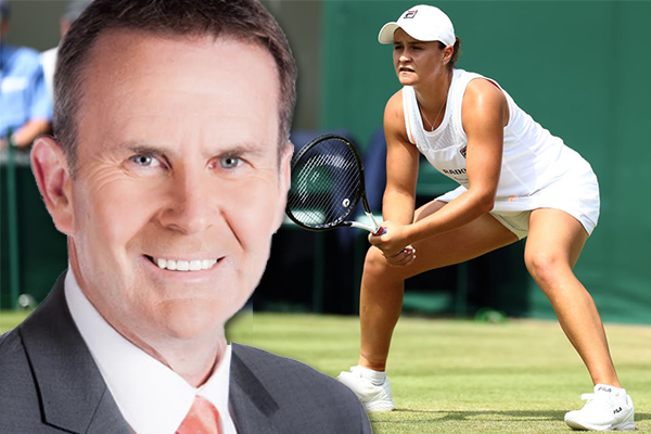 Article image for 'If this lady isn't full of class then I'm not sure what class is': Tony Jones praises Ash Barty for gracious loss