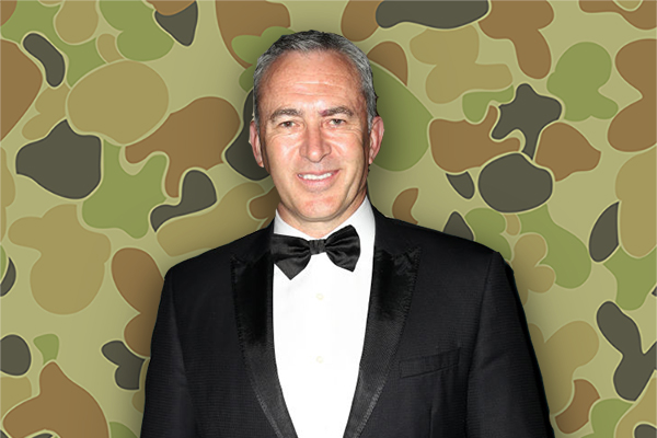 Article image for Captain Mark Beretta: Sunrise sports reporter joins the Australian Army!