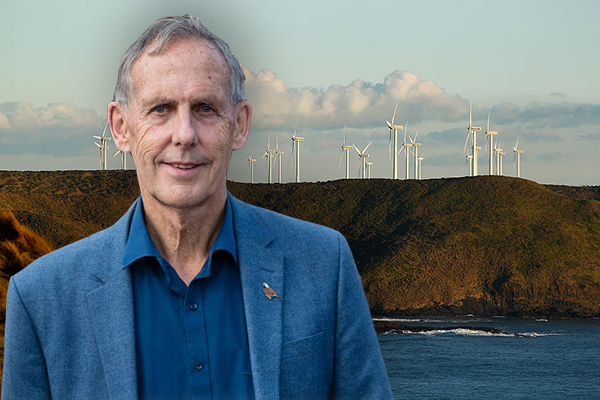 Article image for Former Greens leader Bob Brown takes a stand AGAINST a Tasmanian wind farm