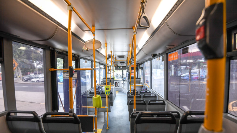 Article image for Six buses targeted in slingshot attacks in Melbourne's east