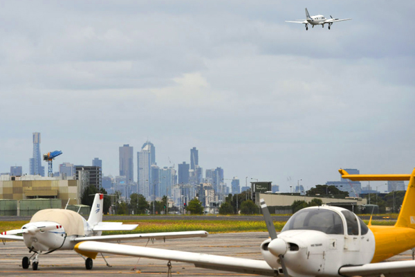 Article image for Pilots angered by bold new plans for Essendon airport
