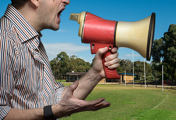 Article image for Silent footy: Junior football league bans spectators from shouting and coaching