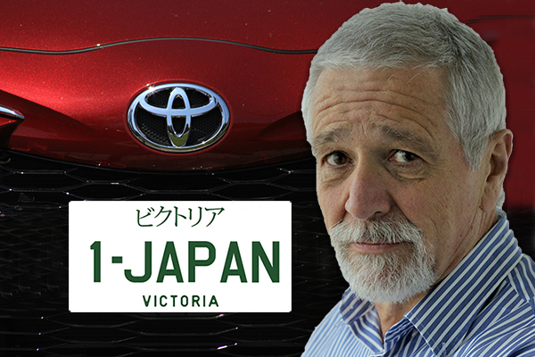 Article image for 'Why?': Neil Mitchell questions the use of Japanese characters on Victorian number plates